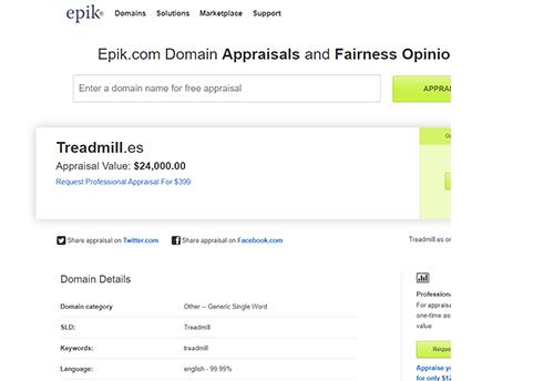 epik appraisal